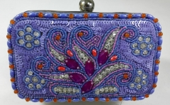 Multi-color Beads and Sequins Heavy Embellished Evening Bags HH-BE10635