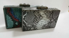 Unique Fashion Exquisite Handmade Python PU Leather Evening Clutches HH-PU5202