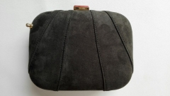 Synthetic Suede Evening Clutch Handbag Shell Evening Bags Clutches HH-PU5450