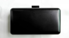 Black Metal Shell Evening Clutch Bags Metallic Box Clutches HH-MT2802