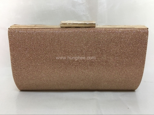 Gold Glitter Hard Case Clutches Evening Clutch Bag for Prom Party Wedding Cocktail HH-GLT65038