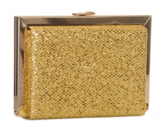 Gold Glitter Evening Bag Box Clutches Clutch Evening Purses HH-GLT81796