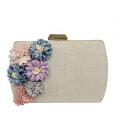 Superfabric Flowers Evening Vintage Box Handbags Hardcase Clutch Bags HH-HD51836