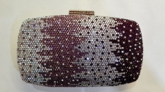 Multi-color Hot-fixed Full Rhinestone Gradient Crystal Evening Bags HFCR72135