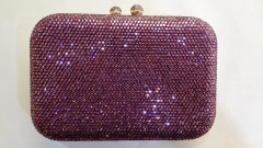 Rose Hot-fixed Full Rhinestone Party Prom Purse Crystal Evening Bags HFCR71928