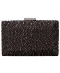 Black Hot-fixed Box Crystal Clutch Bags HH-CR89722