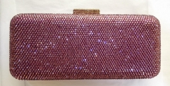 Full Diamond Rose Box Clutches Crystal Clutch Evening Purses HH-HF17756