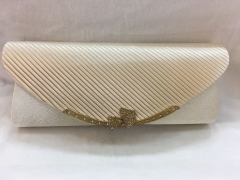 Satin Pleated PARTY WEDDING LUXURY CLUTCH HH-SSA35920