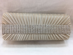 Rhinestones Clutch for Bridal Party Satin Evening Clutch Handbags HH-SSA35902