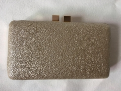 Beige Faux Leather Box Bag Evening Bags and Clutches HH-PU10245