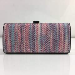 Multi-color Snakeskin PU Leather Wallets Hard Clutch Purses PU Leather Evening Bags HH-PU10304